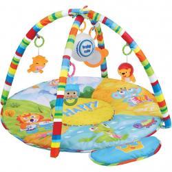 Hrací deka s hracím modulem Baby Mix safari Zelená