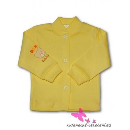 Kojenecký kabátek New Baby žlutý Žlutá velikost - 74 (6-9m)