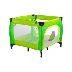 Dětská skládací ohrádka CARETERO Quadra green Zelená