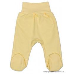 Kojenecké polodupačky New Baby žluté Žlutá velikost - 86 (12-18 m)