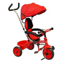 Dětská tříkolka Baby Mix red Červená