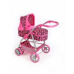 Multifunkční kočárek pro panenky PlayTo Jasmínka růžový Dle obrázku