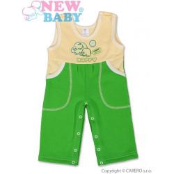 Dětské lacláčky New Baby Happy zelené Zelená velikost - 80 (9-12m)
