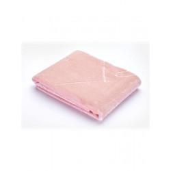 Dětská semišová deka Sensillo 80x100 cm rose Růžová