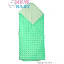 Multifunkční dětská deka 2v1 New Baby zelená Zelená