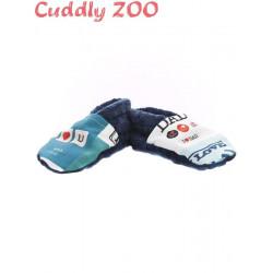 Bačkůrky Cuddly Zoo Táta S tmavě modré Modrá