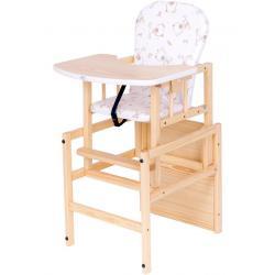 Borovicová židlička Drewex Antonín přírodní Přírodní
