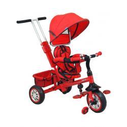 Dětská tříkolka Baby Mix červená Červená