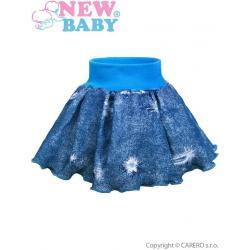 Kojenecká suknička New Baby Light Jeansbaby modrá Modrá velikost - 68 (4-6m)
