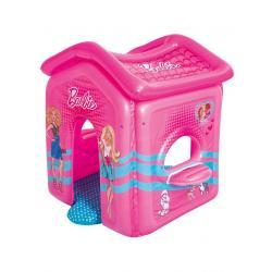 Dětský nafukovací domeček Bestway Barbie Růžová