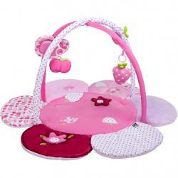 Hrací deka PlayTo kytička Růžová