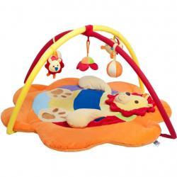 Hrací deka PlayTo lev Oranžová
