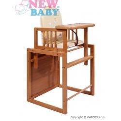 Buková židlička New Baby Victory - přírodní Přírodní