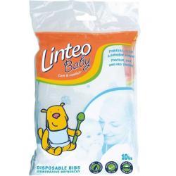 Jednorázové bryndáčky Linteo Baby 10 ks Dle obrázku