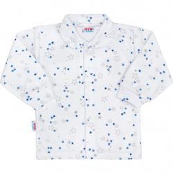 Kojenecký kabátek New Baby Magic Star modrý Modrá velikost - 50
