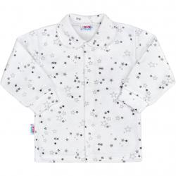 Kojenecký kabátek New Baby Magic Star šedý Šedá velikost - 50