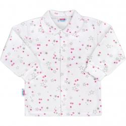 Kojenecký kabátek New Baby Magic Star růžový Růžová velikost - 56 (0-3m)