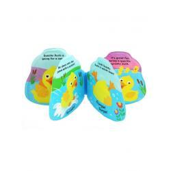Dětská pískací knížka do vody Baby Mix kačenka Dle obrázku