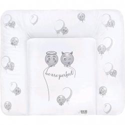 Přebalovací podložka měkká New Baby Emotions bílá 70x50cm Bílá