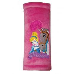 Chránič na bezpečnostní pásy Disney Princess Růžová
