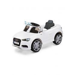 Elektrické autíčko Toyz AUDI A3-2 motory white Bílá