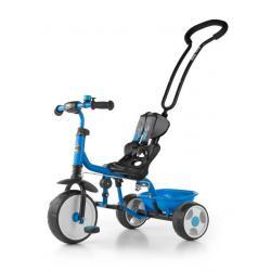 Dětská tříkolka se zvonkem Milly Mally Boby 2015 blue Modrá