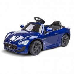 Elektrické autíčko Toyz MASERATI GRANCABRIO - 2 motory blue Modrá