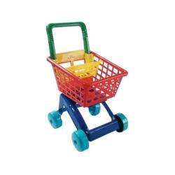 Dětský nákupní košík - červený Červená