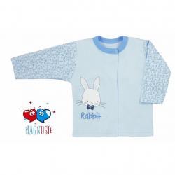 Kojenecký kabátek Koala Rabbit Magnet modrý Modrá velikost - 56 (0-3m)