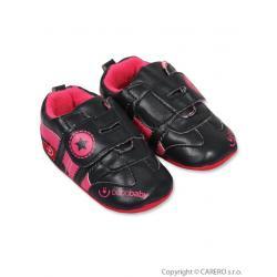 Dětské capáčky Bobo Baby 6-12m černé Černá velikost - 80 (9-12m)