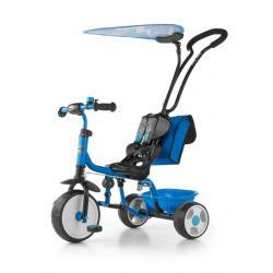Dětská tříkolka Milly Mally Boby Delux 2015 blue Modrá