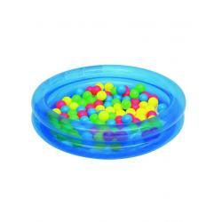 Dětský nafukovací bazén Bestway s míčky modrý Modrá