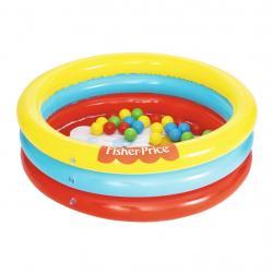 Dětský nafukovací bazén Fisher-Price s míčky Multicolor