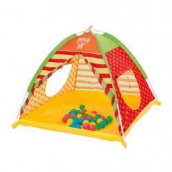 Dětský stan na hraní Bestway s míčky Multicolor