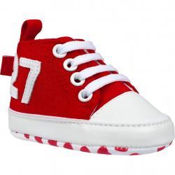 Dětské capáčky Bobo Baby 12-18m 27 červené Červená velikost - 86 (12-18 m)