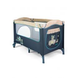 Cestovní postýlka Milly Mally Mirage blue toys Modrá