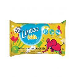 Vlhčené ubrousky Linteo Baby Kids 15 ks Dle obrázku