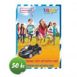 Propagační materiály Toyz balení-50 ks Dle obrázku