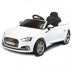 Elektrické autíčko Toyz AUDI S5 - 2 motory white Bílá