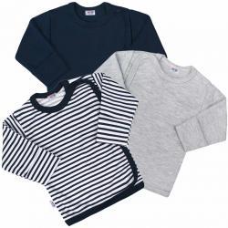 Kojenecká košilka New Baby Classic II Kluk 3ks Dle obrázku velikost - 50