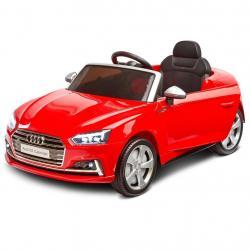 Elektrické autíčko Toyz AUDI S5 - 2 motory red Červená
