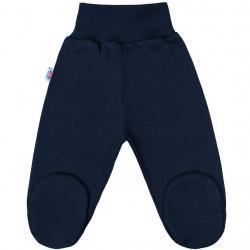 Kojenecké polodupačky New Baby Classic II tmavě modré Modrá velikost - 50