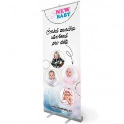 Reklamní Roll-up banner New Baby Dle obrázku