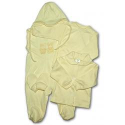 5-ti dílná soupravička  New Baby béžová Béžová velikost - 56 (0-3m)