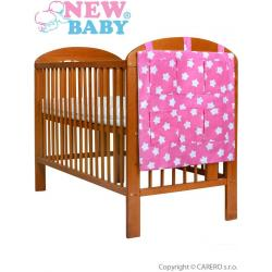 Kapsář New Baby hvězdičky růžový