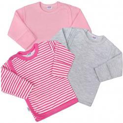 Kojenecká košilka New Baby Classic II Holka 3ks Dle obrázku velikost - 50