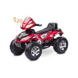 Elektrická čtyřkolka Toyz Cuatro red Červená