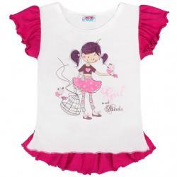 Dětská letní tunika New Baby Girl bílá Bílá velikost - 140 (9-10 let)