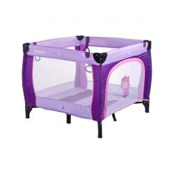 Dětská skládací ohrádka CARETERO Quadra purple Fialová