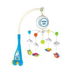 Elektrický kolotoč nad postýlku Baby Mix Letadýlka Multicolor